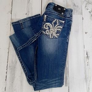 Miss Me Embellished Bootcut Fading Jeans